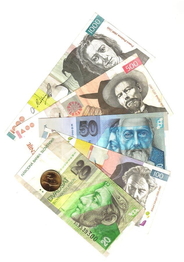 斯洛伐克斯洛文尼亚符号 免版税库存照片