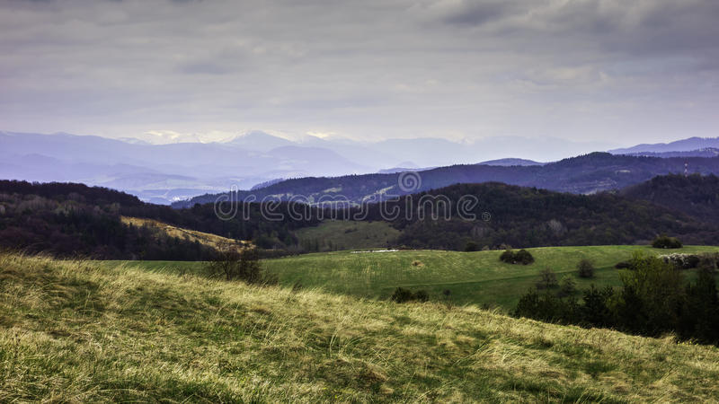 斯洛伐克的风景 库存图片