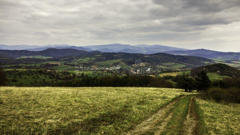 斯洛伐克的风景 免版税库存图片