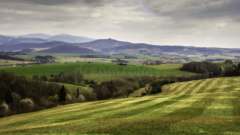 斯洛伐克的风景 免版税库存照片