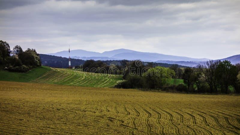斯洛伐克的风景 库存照片