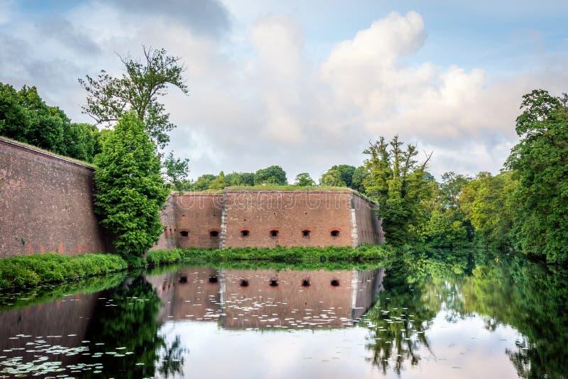 斯潘道城堡(Spandauer Zitadelle)在柏林,德国 免版税库存图片