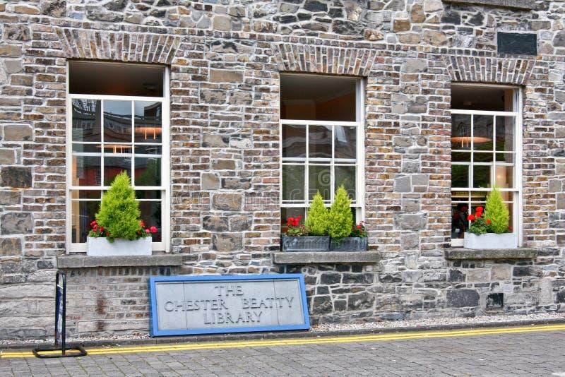 彻斯特比蒂图书馆,都伯林,爱尔兰 库存照片