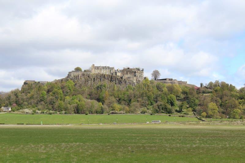 斯特灵城堡,西部苏格兰 免版税库存照片