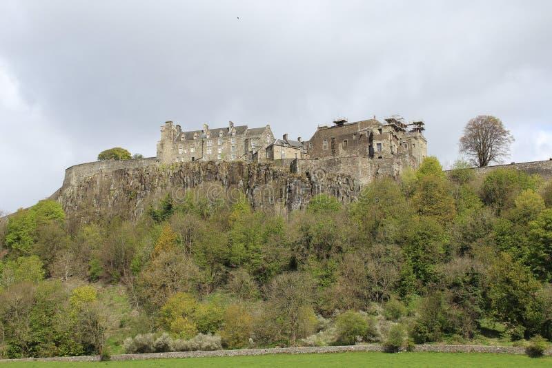 斯特灵城堡,西部苏格兰 库存图片