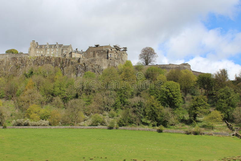 斯特灵城堡,西部苏格兰 免版税库存图片