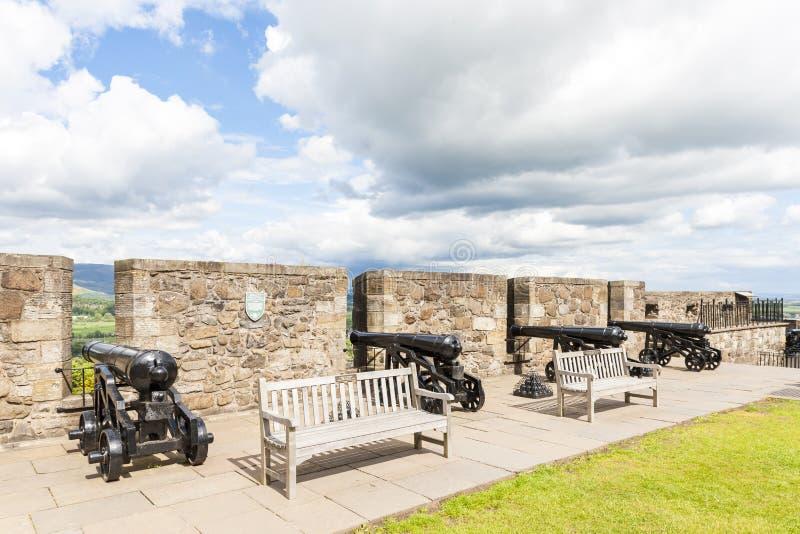 斯特灵城堡,Stirlingshire,苏格兰 免版税库存图片