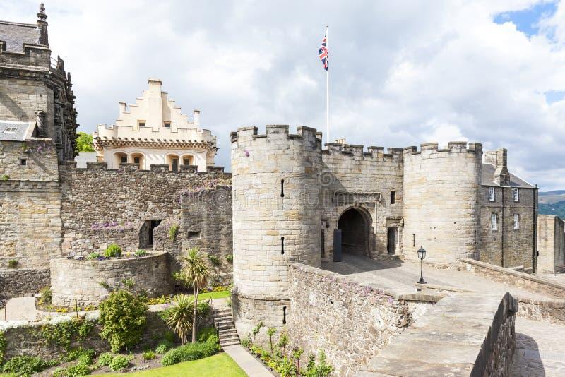 斯特灵城堡,Stirlingshire,苏格兰 免版税图库摄影