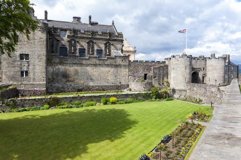 斯特灵城堡,Stirlingshire,苏格兰 库存照片