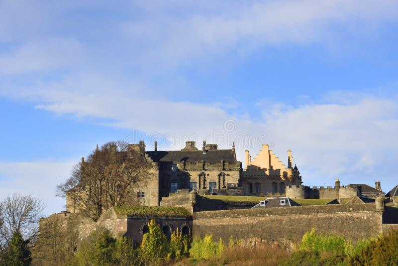 斯特灵城堡 库存照片