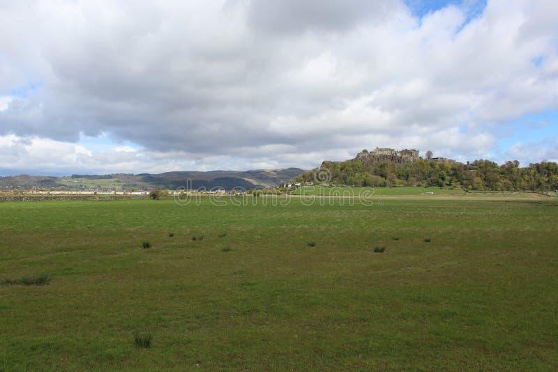 斯特灵城堡 免版税库存照片