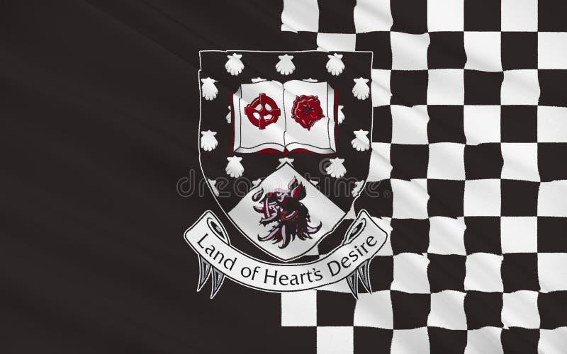 斯莱戈郡旗子是一个县在爱尔兰 向量例证