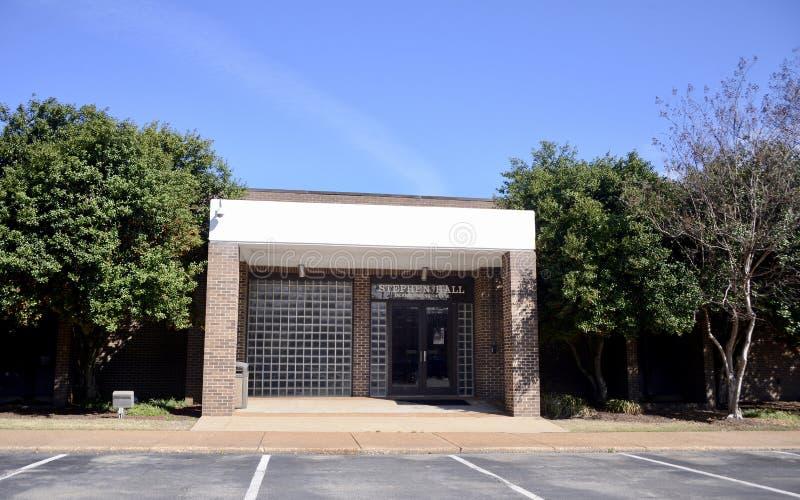斯蒂芬霍尔开发中心在基督徒兄弟高中 库存照片