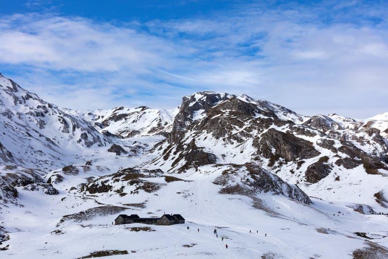 斯诺伊多山风景 库存图片