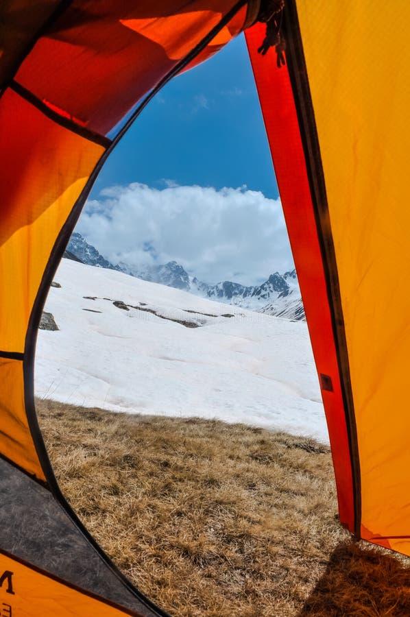 斯诺伊山在土耳其 免版税库存图片