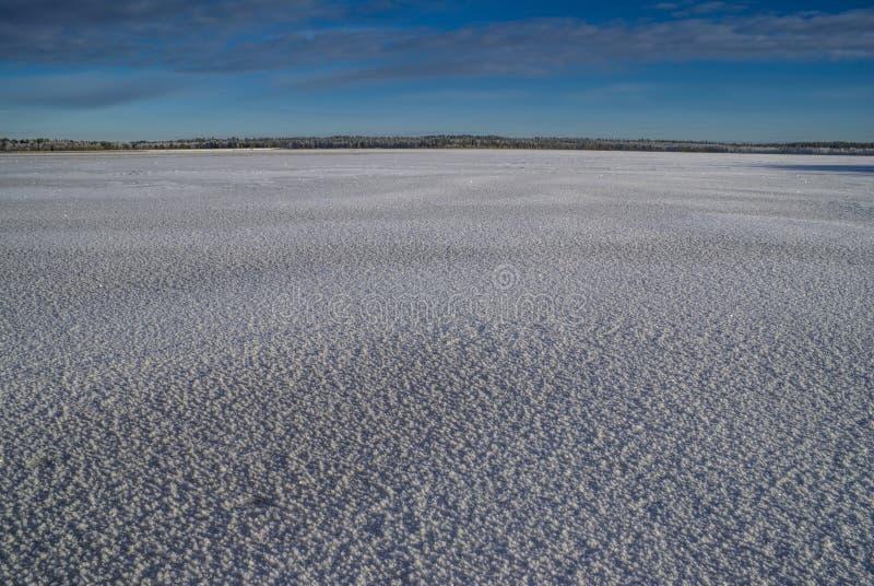 斯诺伊平原 库存图片