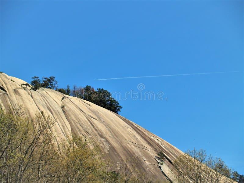 斯通山国家公园花岗岩圆顶 免版税库存图片