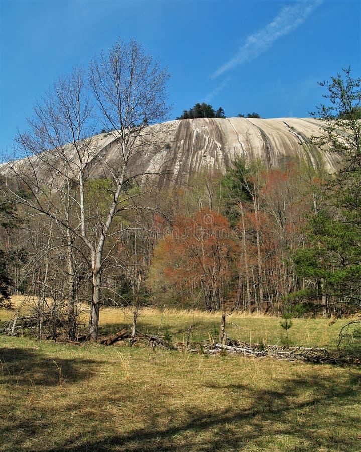 斯通山国家公园花岗岩圆顶 免版税库存照片
