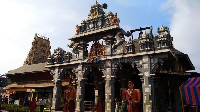 斯里克里希纳寺庙乌杜皮 免版税库存照片