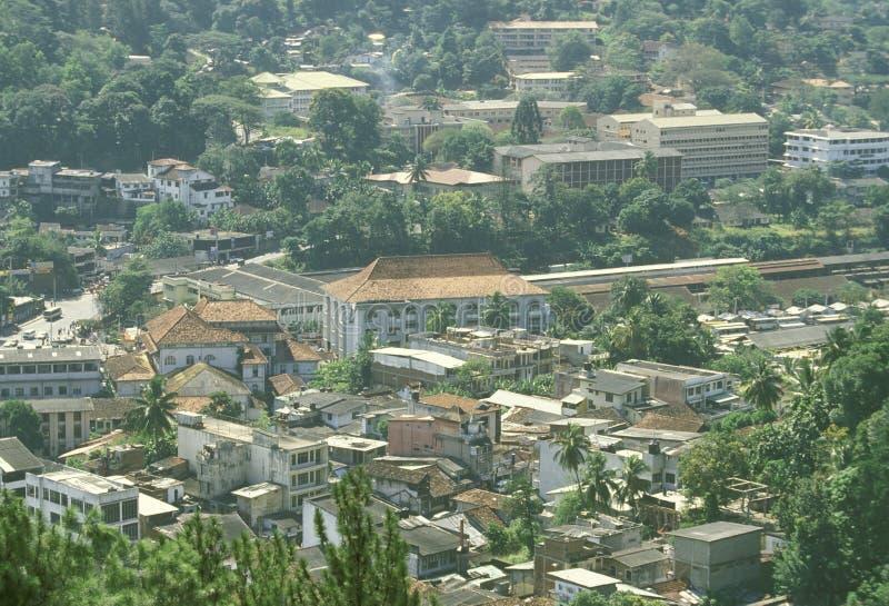 斯里兰卡康提市 库存照片