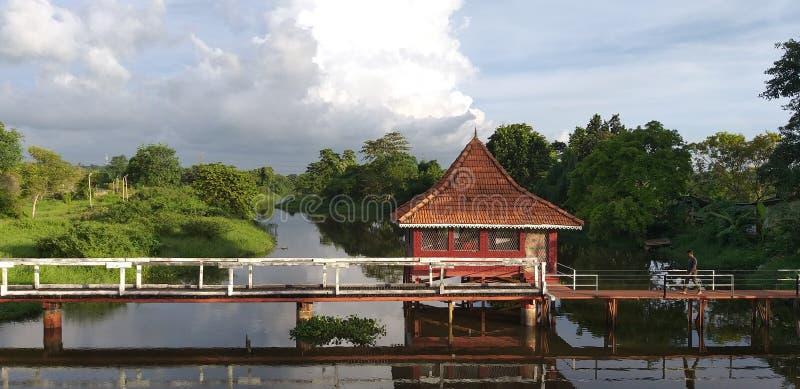 斯里兰卡的小寺庙 免版税库存图片