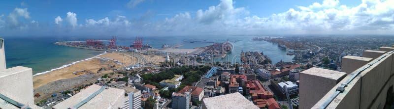 斯里兰卡的最高的地区 免版税库存图片