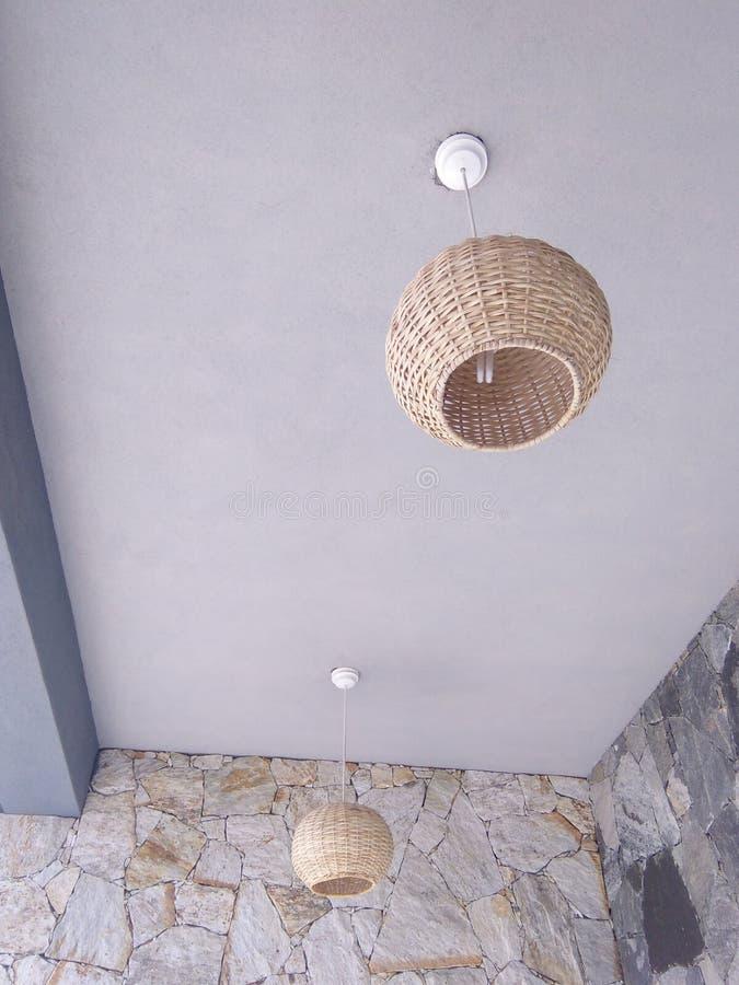 斯里兰卡的自然照片灯罩  皇族释放例证