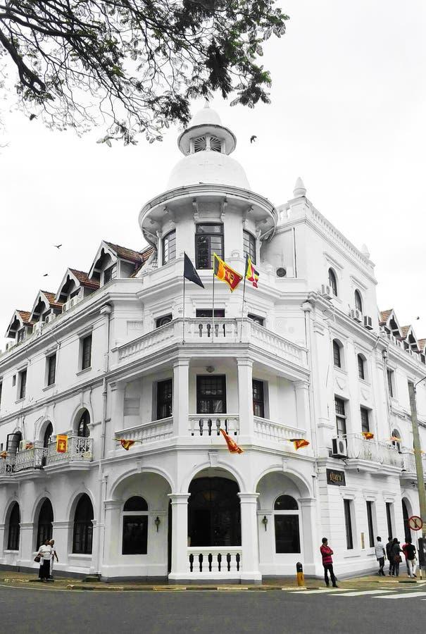 斯里兰卡科伦坡美丽的昆兹酒店 库存图片