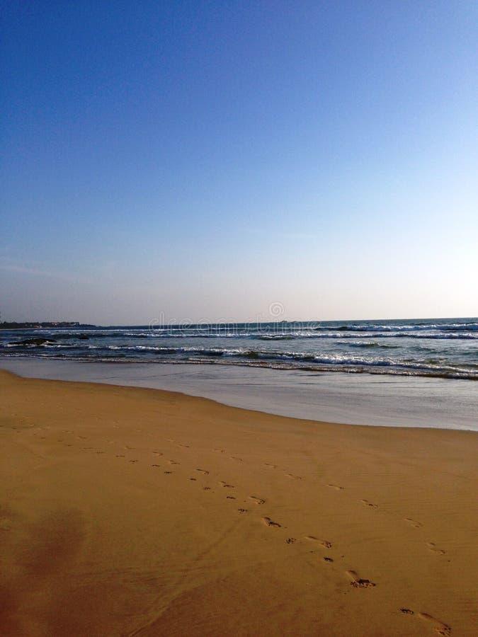 斯里兰卡,印地安oecan 免版税库存照片