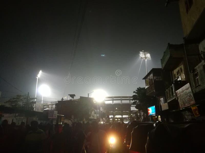 斯里兰卡R 普雷马达萨蟋蟀体育场 免版税库存图片