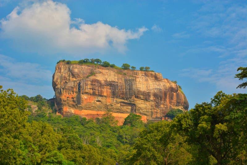 斯里兰卡Sigirya山 免版税库存图片