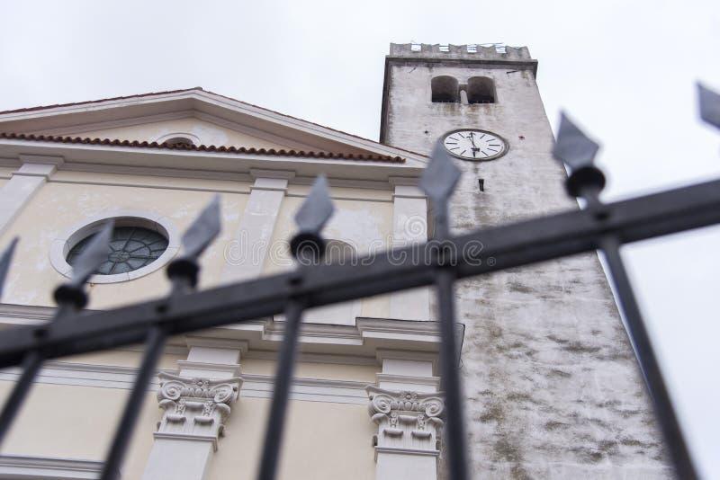 斯马特诺在斯洛文尼亚戈里斯卡布尔达 免版税库存照片