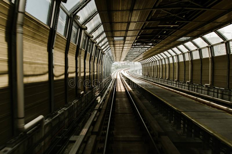 新一代运输的马来西亚大量高速运输 图库摄影