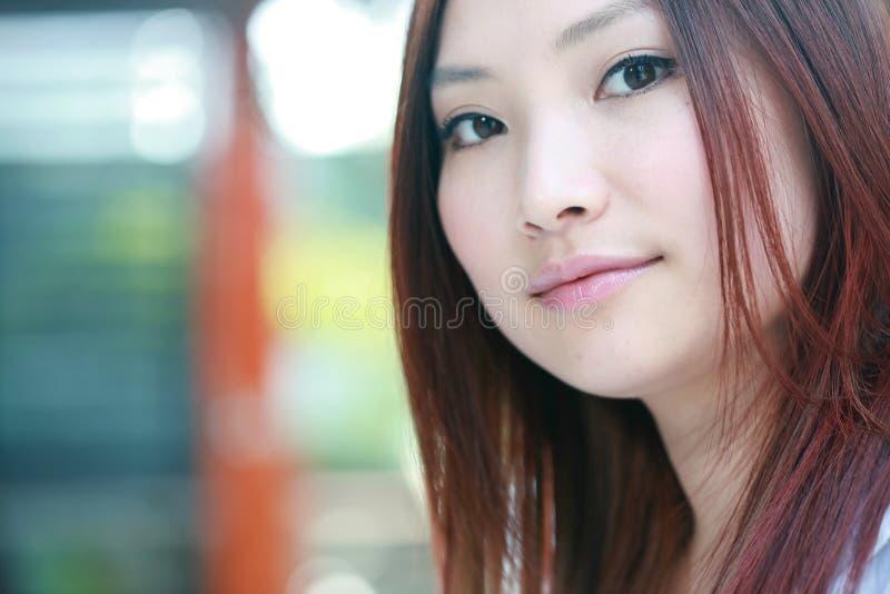 新亚裔的女实业家 库存图片