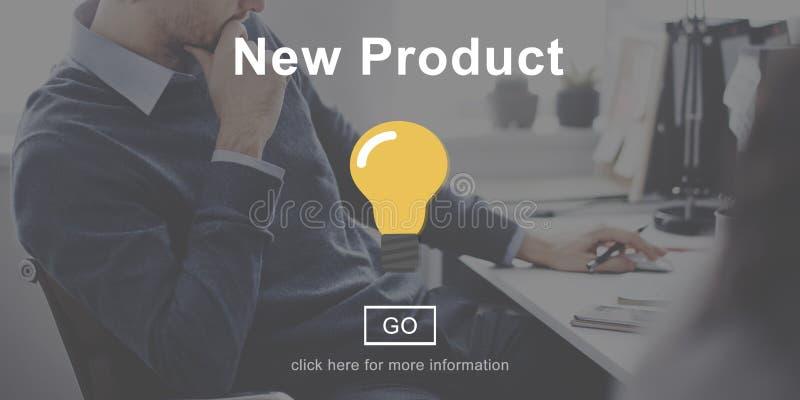 新产品开发当前现代概念 免版税库存照片