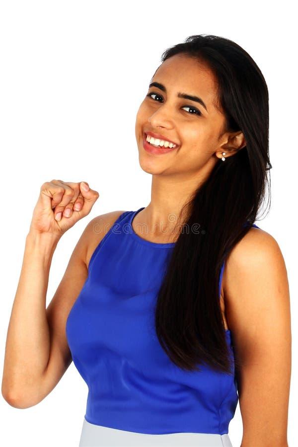 新企业成功的妇女 免版税库存照片