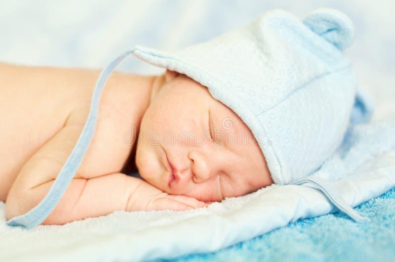新出生休眠 图库摄影