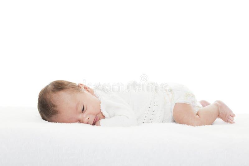 新出生的婴儿 免版税库存图片