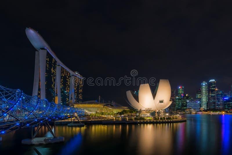 新加坡中心地区和中心商务区,  库存照片
