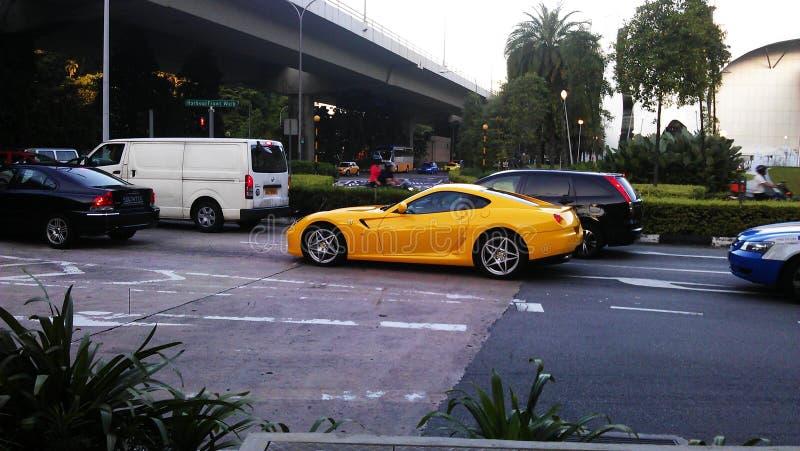 新加坡人豪华生活方式  免版税库存照片