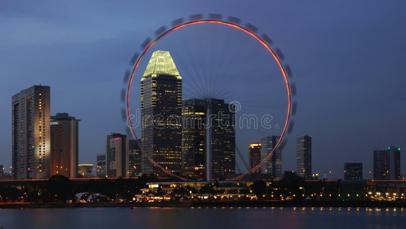 新加坡传单 库存图片