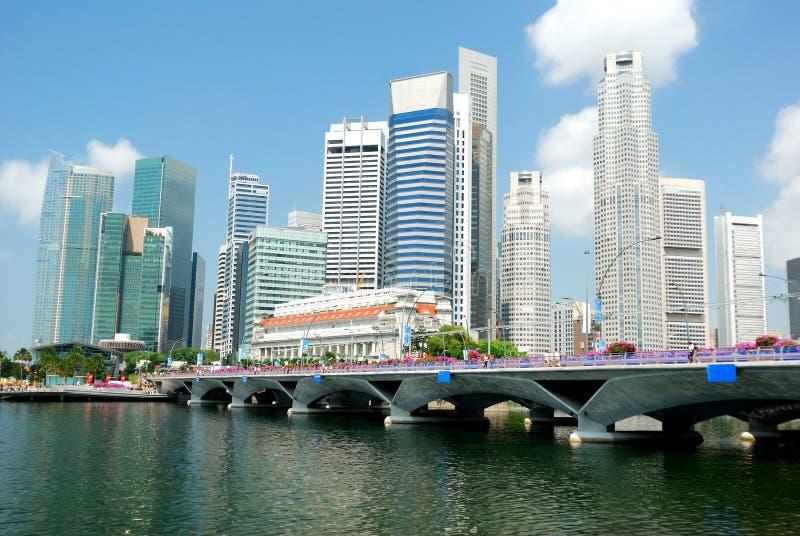 新加坡地平线 免版税库存照片