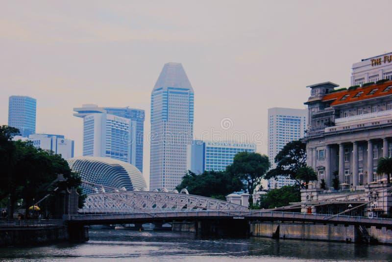 新加坡奇迹  库存照片