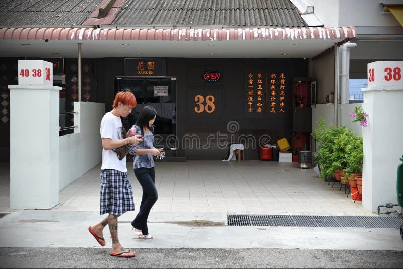 新加坡妓院 图库摄影