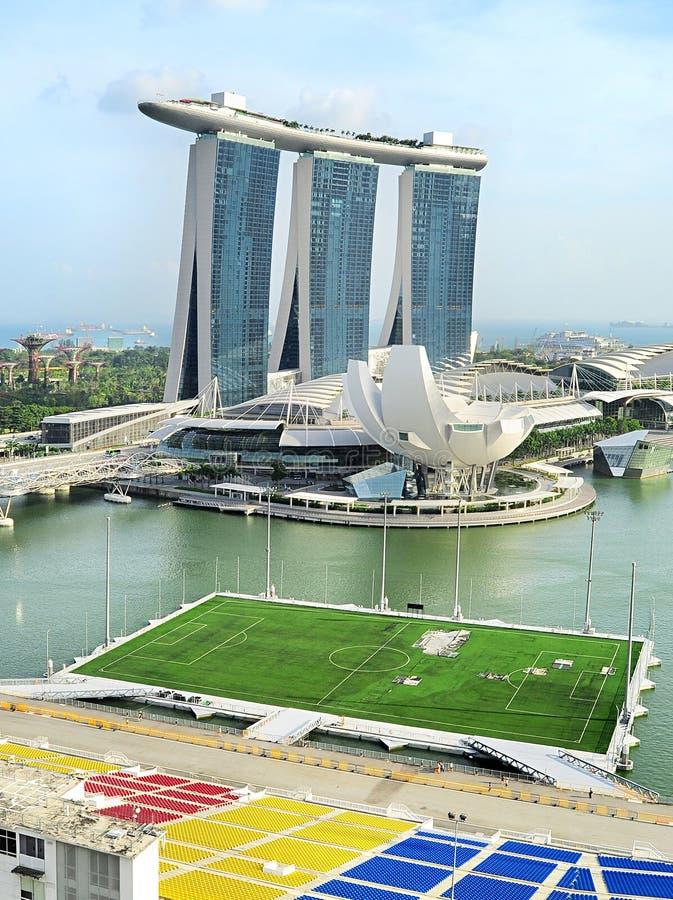 新加坡海湾 免版税库存照片