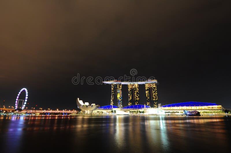 新加坡海滨广场海湾铺沙04 免版税库存照片
