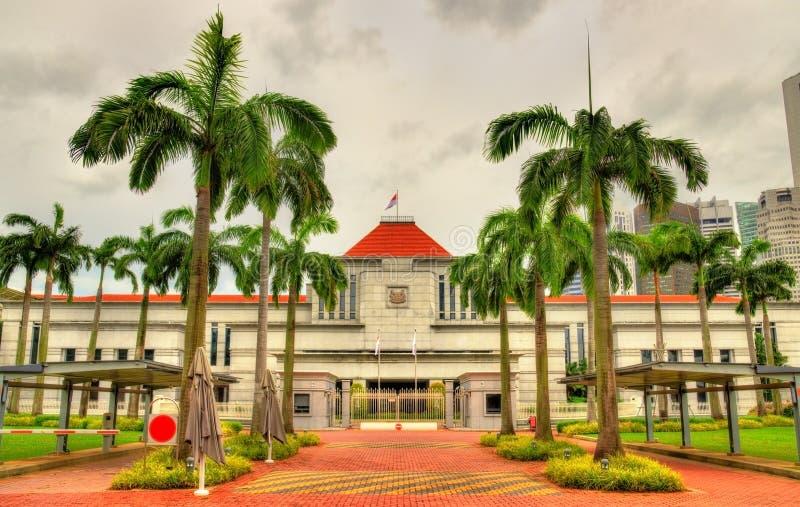 新加坡议会议院  免版税图库摄影