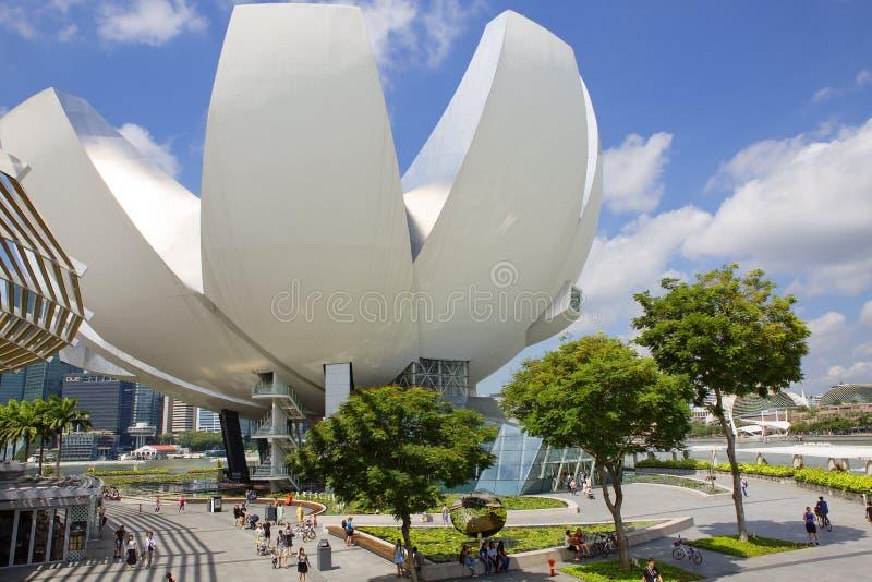新加坡,科学和艺术博物馆  免版税库存图片