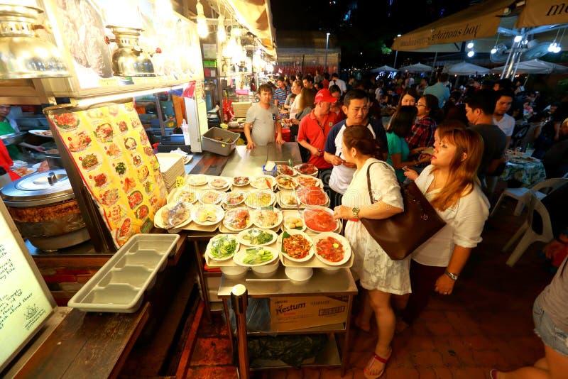 新加坡:Makansutra暴食者海湾 免版税库存图片