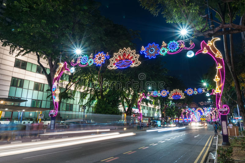新加坡- 11月10 免版税库存照片